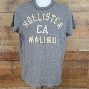 Hollister CA Malibu T-Shirt Men's Size L Gray D181